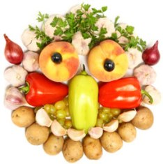 Image: Veggie Face