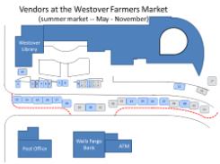 Summer 2017 vendor map